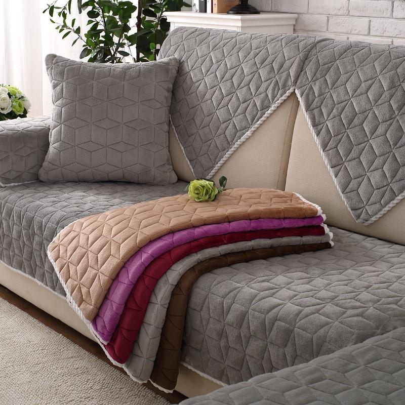Красивые стильные накидки для дивана фото