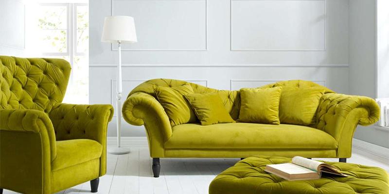 Благородная оливковая мебель