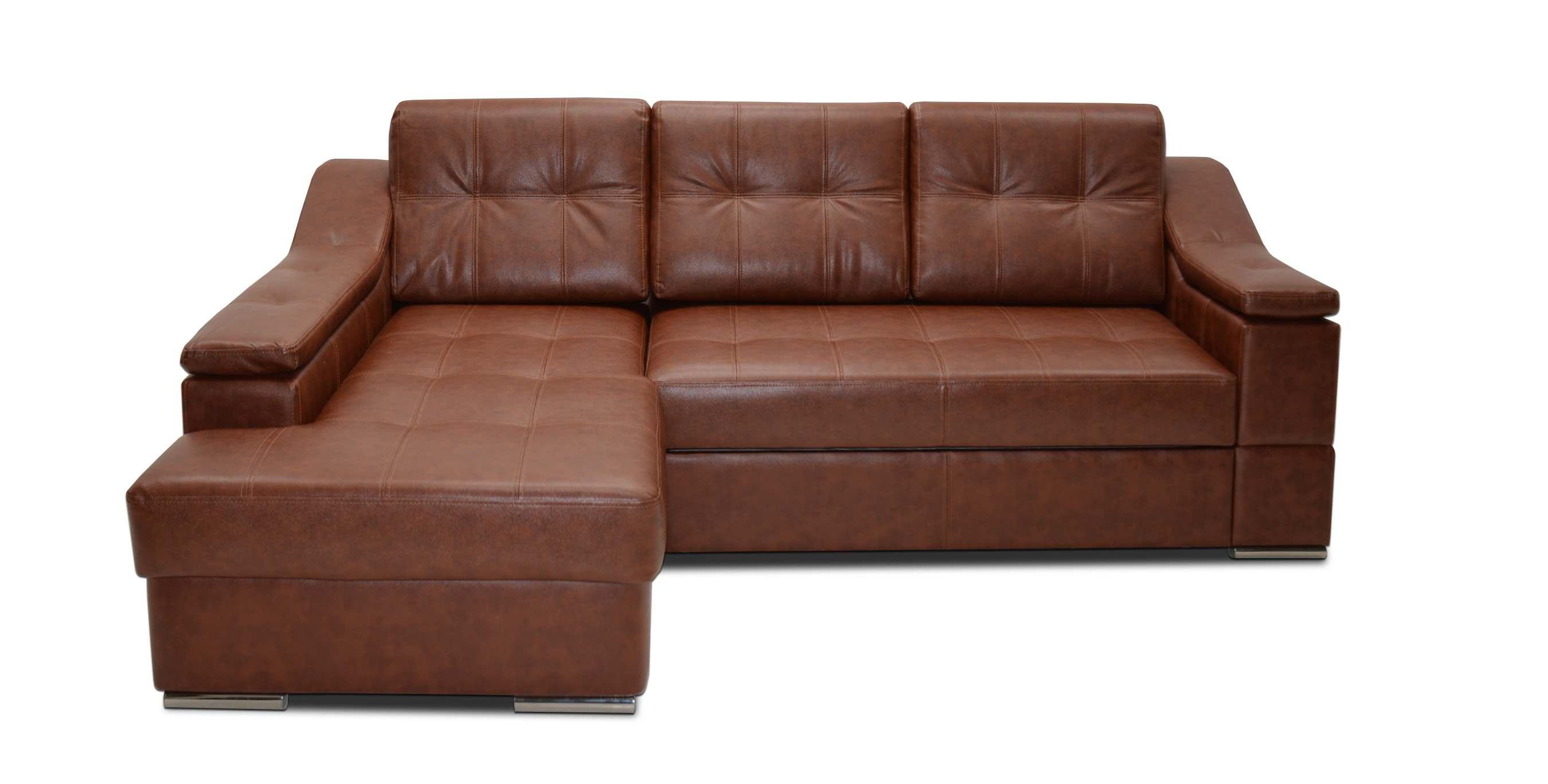 честер диван угловой кожаный коричневый материал обивки кожа