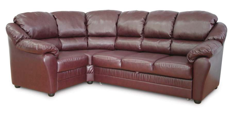 бруно диван угловой кожаный фиолетовый материал обивки кожа